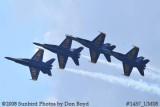 The Blue Angels at the 2008 Great Tennessee Air Show practice show at Smyrna aviation stock photo #1457