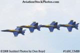 The Blue Angels at the 2008 Great Tennessee Air Show practice show at Smyrna aviation stock photo #1430