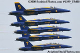 The Blue Angels at the 2008 Great Tennessee Air Show practice show at Smyrna aviation stock photo #1599