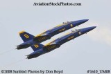 The Blue Angels #5 and #6 at the 2008 Great Tennessee Air Show practice show at Smyrna aviation stock photo #1610