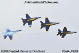 The Blue Angels at the 2008 Great Tennessee Air Show practice show at Smyrna aviation stock photo #1616