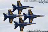 The Blue Angels at the 2008 Great Tennessee Air Show at Smyrna aviation stock photo #1789