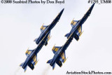 The Blue Angels at the 2008 Great Tennessee Air Show at Smyrna aviation stock photo #1793