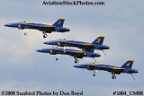 The Blue Angels at the 2008 Great Tennessee Air Show at Smyrna aviation stock photo #1804