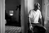 Michele. Retired carpenter, in his 200 years old house.