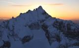Forbidden Peak NE Face At Sunset  (Forbidden030609-_26adj2.jpg)