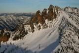 Hinkhouse, W Face & Ski Tracks  (Hinkhouse112307-_06.jpg)