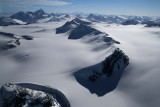 Mt Azazel (L Foreground), Dagon, & Monarch Icefield, View SE  (MonarchIF021808-_138.jpg)