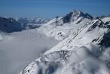 Snowside Mt (R) & War Drum Glacier, View SW  (MonarchIF021808-_255.jpg)