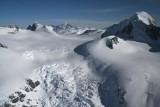 Cerberus (R) & Monarch Icefield, View E To Monarch  (MonarchIF021808-_396.jpg)