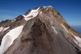 Hood, Upper White River Glacier & SE Face  (Hood082407-_077.jpg)