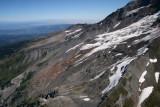 Hood:   Sandy Glacier, View NE  (Hood082807-_174.jpg)