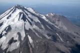 Shasta:  Hotlum (L) & Bolam Glaciers, View SW (Shasta082907-_124.jpg)
