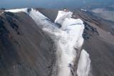 Shasta:  Upper Whitney Glacier/NW Face, View SSW  (Shasta082907-_194.jpg)