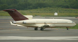 Private B-727-100 taxi at ANC