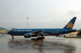 Vietnam Airlines 777 just arriving in SGN