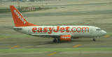 Easy jet B-737-300 taxi in BCN