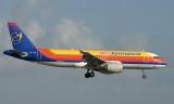Air Jamaica 320 approaching MIA