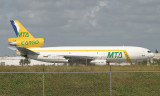 MTA Cargo DC-10 commencing its take off run