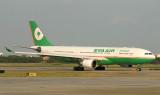 EVA A-330 arriving in TPE
