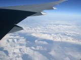 Icy interior of Greenland