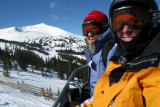 On the chair lift at Breckenridge