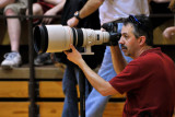 My Canon buddy with his 400mm cannon