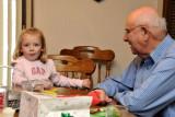 Macey & Great Grandpa