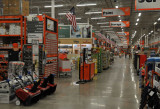 Lonely night at Home Depot