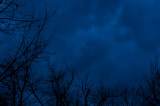 Approaching Evening Thunderstorm