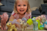Macey and the Ponies