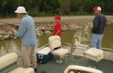 Holthaus Boys fishing at Deer Creek