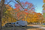 Our Campsite at Hueston Woods