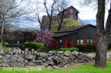 Springtime view of the Makers Mark Distillery