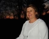 Brenda at Sunset