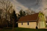 Moonlit Barn (photo was taken at 11:00 PM)