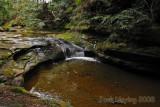 Small falls above Cedar Falls, Hocking County, Ohio