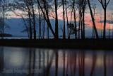 Grand Lake Sunset, St. Mary's, Ohio