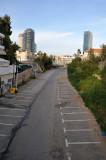 Tel Aviv - view from Chelouche St. toward Tel Aviv