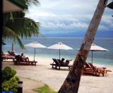 visiting Besar, bigger island