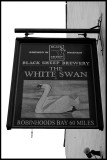 White Swan - pub sign