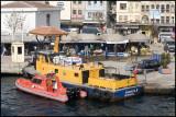 Fish Market From Galata Bridge