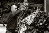 Unloading Cloth Near The Grand Bazaar