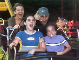 My dauther's at Canada's wonderland in 1999 and their first roller coaster ride  and they never ride again  !!! guess why ???