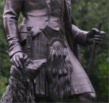 Prince Albert, Statue titled: in highland dress - Cliveden