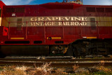 Grapevine Vintage Railroad Engine