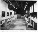 The manchester interior before the opening.