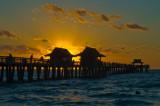 Naples Fishing Pier at Sunset