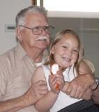 Great Grandpa and Liz