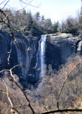 Hickory Nut Falls 350 to 400 Ft. The Yosemite of NC.